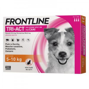 Frontline Tri-act Cani 5-10...
